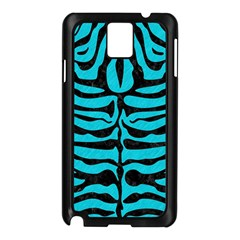 Skin2 Black Marble & Turquoise Colored Pencil Samsung Galaxy Note 3 N9005 Case (black)