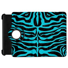 Skin2 Black Marble & Turquoise Colored Pencil (r) Kindle Fire Hd 7