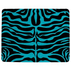 Skin2 Black Marble & Turquoise Colored Pencil (r) Jigsaw Puzzle Photo Stand (rectangular)