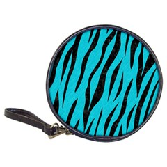 Skin3 Black Marble & Turquoise Colored Pencil Classic 20 Cd Wallets
