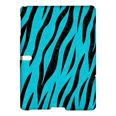 Skin3 Black Marble & Turquoise Colored Pencil Samsung Galaxy Tab S (10 5 ) Hardshell Case