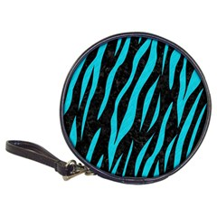 Skin3 Black Marble & Turquoise Colored Pencil (r) Classic 20 Cd Wallets
