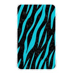 Skin3 Black Marble & Turquoise Colored Pencil (r) Memory Card Reader