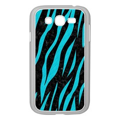 Skin3 Black Marble & Turquoise Colored Pencil (r) Samsung Galaxy Grand Duos I9082 Case (white)