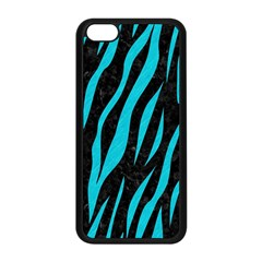 Skin3 Black Marble & Turquoise Colored Pencil (r) Apple Iphone 5c Seamless Case (black)