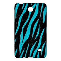 Skin3 Black Marble & Turquoise Colored Pencil (r) Samsung Galaxy Tab 4 (8 ) Hardshell Case