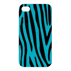 Skin4 Black Marble & Turquoise Colored Pencil (r) Apple Iphone 4/4s Hardshell Case