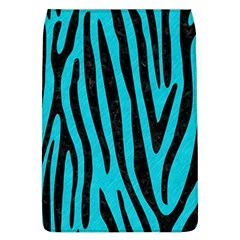 Skin4 Black Marble & Turquoise Colored Pencil (r) Flap Covers (l)