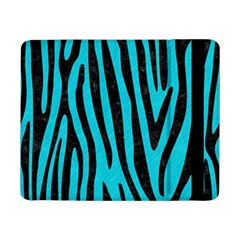 Skin4 Black Marble & Turquoise Colored Pencil (r) Samsung Galaxy Tab Pro 8 4  Flip Case