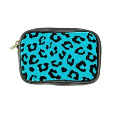 Skin5 Black Marble & Turquoise Colored Pencil (r) Coin Purse