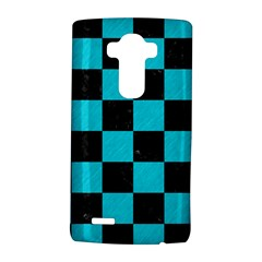 Square1 Black Marble & Turquoise Colored Pencil Lg G4 Hardshell Case