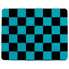 Square1 Black Marble & Turquoise Colored Pencil Jigsaw Puzzle Photo Stand (rectangular)