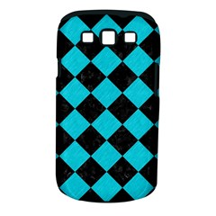 Square2 Black Marble & Turquoise Colored Pencil Samsung Galaxy S Iii Classic Hardshell Case (pc+silicone)