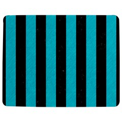 Stripes1 Black Marble & Turquoise Colored Pencil Jigsaw Puzzle Photo Stand (rectangular)