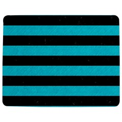Stripes2 Black Marble & Turquoise Colored Pencil Jigsaw Puzzle Photo Stand (rectangular)