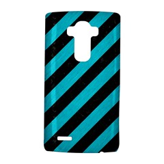 Stripes3 Black Marble & Turquoise Colored Pencil (r) Lg G4 Hardshell Case