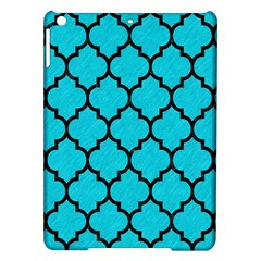 Tile1 Black Marble & Turquoise Colored Pencil Ipad Air Hardshell Cases