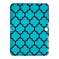 Tile1 Black Marble & Turquoise Colored Pencil Samsung Galaxy Tab 4 (10 1 ) Hardshell Case