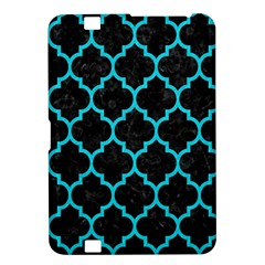 Tile1 Black Marble & Turquoise Colored Pencil (r) Kindle Fire Hd 8 9