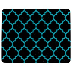 Tile1 Black Marble & Turquoise Colored Pencil (r) Jigsaw Puzzle Photo Stand (rectangular)