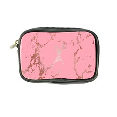 Luxurious Pink Marble Coin Purse