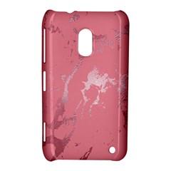 Luxurious Pink Marble Nokia Lumia 620