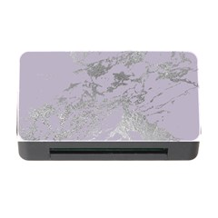 Luxurious Pink Marble Memory Card Reader With Cf
