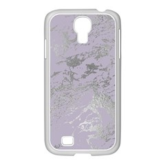 Luxurious Pink Marble Samsung Galaxy S4 I9500/ I9505 Case (white)