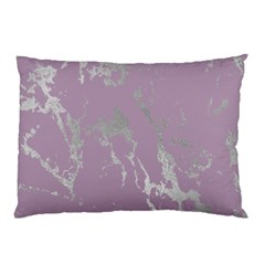 Luxurious Pink Marble Pillow Case (two Sides)