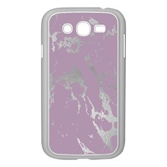 Luxurious Pink Marble Samsung Galaxy Grand Duos I9082 Case (white)