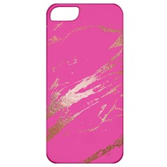 Luxurious Pink Marble Apple Iphone 5 Classic Hardshell Case