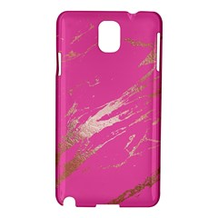 Luxurious Pink Marble Samsung Galaxy Note 3 N9005 Hardshell Case