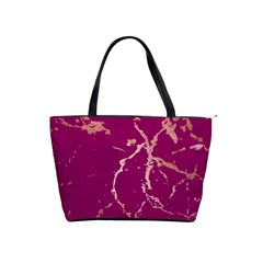 Luxurious Pink Marble Shoulder Handbags