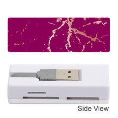 Luxurious Pink Marble Memory Card Reader (stick)