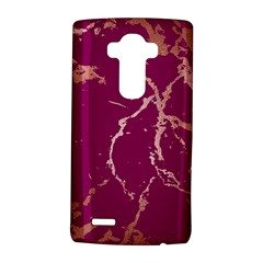 Luxurious Pink Marble Lg G4 Hardshell Case
