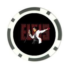 Elvis Presley Poker Chip Card Guard (10 Pack)