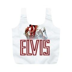 Elvis Presley Full Print Recycle Bags (m)