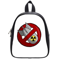 No Nuclear Weapons School Bag (small)