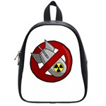 No nuclear weapons School Bag (Small) Front