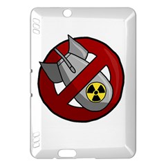 No Nuclear Weapons Kindle Fire Hdx Hardshell Case
