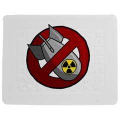 No Nuclear Weapons Jigsaw Puzzle Photo Stand (rectangular)