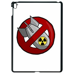 No Nuclear Weapons Apple Ipad Pro 9 7   Black Seamless Case