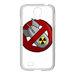 No Nuclear Weapons Samsung Galaxy S4 I9500/ I9505 Case (white)