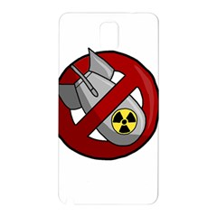 No Nuclear Weapons Samsung Galaxy Note 3 N9005 Hardshell Back Case