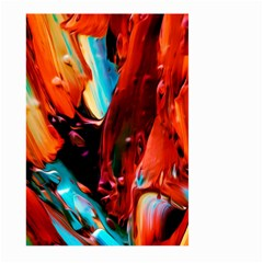 Abstract Acryl Art Large Garden Flag (two Sides)