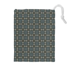 Earth Tiles Drawstring Pouches (extra Large)
