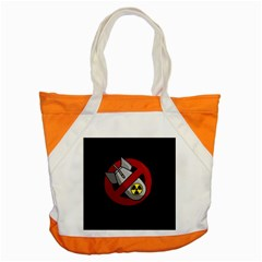 No Nuclear Weapons Accent Tote Bag