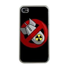 No Nuclear Weapons Apple Iphone 4 Case (clear)
