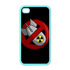 No Nuclear Weapons Apple Iphone 4 Case (color)