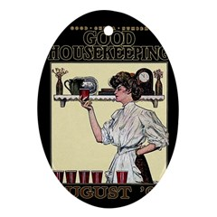 Good Housekeeping Ornament (oval)